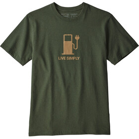 Patagonia M's Live Simply Power Responsibili-Tee Nomad Green